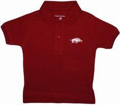 Official Arkansas Razorbacks Infant Toddler Polo Shirt