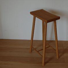 Stool/table with cricket stump legs www.stephenson ...