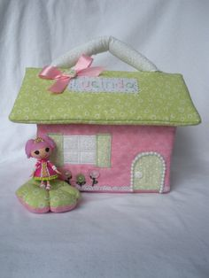 Lucinda's Jewel Sparkles house by MandySewSweet on Etsy
