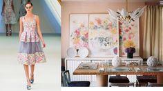 Erdem Spring 2013 RTW and Lonny Magazine StylePair at Fashion + Decor