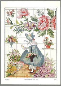 Free Cross Stitch Pattern (no color key available)