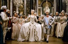 Kirsten Dunst and Jason Schwartzman in Marie Antoinette directed by Sofia Coppola, 2006
