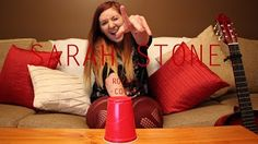 Royals - Cover By Sarah Stone (Cup Song Version) - YouTube