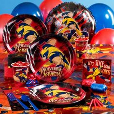 Wolverine and the X-Men Party Supplies