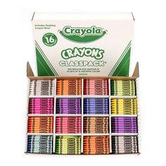 Crayola Crayon Classpack, Set of 800