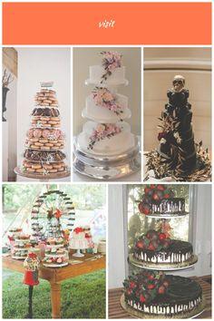 Inspirational Ideas For Wedding Cake Decorations wedding cakes alternatives