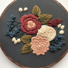 Hand Embroidery Kit for Beginners #Embroideryforbeginners