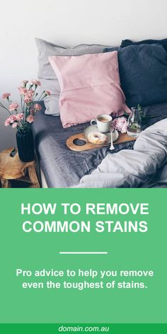 Between the messy feast and flowing spirits, it would be a miracle if there wasn't a spill or two at your dinner party. Luckily, Debra Johnson, home cleaning expert for Merry Maids, has pro advice that will help you remove even the toughest of stains.  Read on for Johnson's specific instructions on how remove the most common entertaining stains, so you can keep your textiles tidy for many shindigs to come.