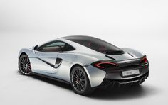 Mclaren 570GT, a great example of modern design and styling with the long smooth…