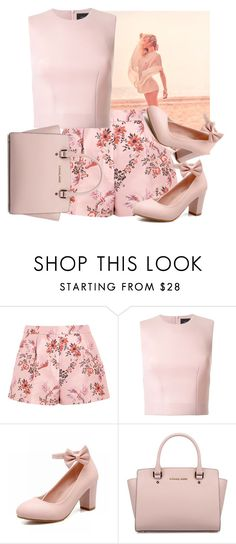"""""""Untitled #1062"""" by capm ❤ liked on Polyvore featuring GINTA, STELLA McCARTNEY, Simone Rocha and Michael Kors"""