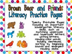 This packet includes several literacy activities perfect for a kindergarten classroom at the beginning of the school year!!There are twenty pri...