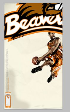 Oregon State player poster