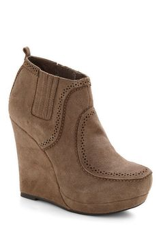 Sand in the Wind Bootie from Modcloth