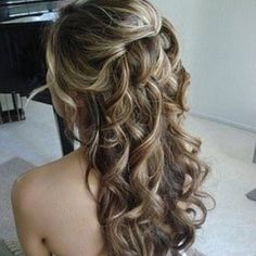 Looks like wedding hair.!!
