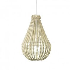 For the living area $299 - Beaded Chandelier Natural, Early Settler