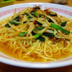 晩御飯は味仙の#辣肉醤 を使って「#台湾ラーメン 」🍜😆。お手軽に台湾ラーメンが再現できてうまいわ😎 #meallog #food #foodporn #tw #👓作