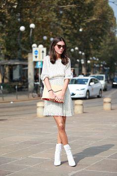 #streetstyle #style #streetfashion #fashion #refinery29 #polkadots