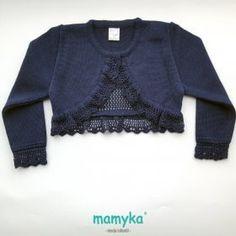 Chaqueta de punto color azul marino primavera - verano 2018 | Mac Ilusión Baby Girl Sweaters, Baby Knitting, Amanda, Pullover, Mac, Women, Condor, Babies, Club