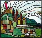 Greenwich-scape | Stained Glass - Landscapes | Pinterest