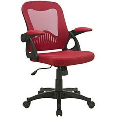 Modway Advance Office Chair in Red