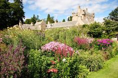 Cawdor Castle and Garden in Schittland