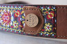 Gypsy Leather Banjo Strap  i need a banjo to go with it!