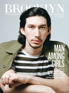 Adam Driver in Brooklyn Magazine