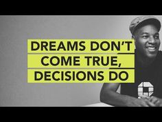 Dreams Don't Come True, Decisions Do // Ground Up 073 English Help, English For Beginners, English Time, English Study, English Class, English Lessons, Teaching English, Learning For Life, Learning Process