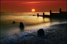 Whitsable Sunrise, north of Kent, UK