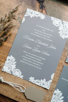 Gallery & Inspiration | Category - Invitations | Picture - 1459019