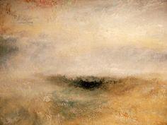 William Turner - W.Turner, Seestück mit aufkommend. Sturm