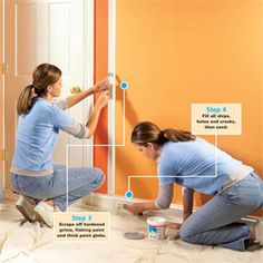 How to Paint Wood Trim for a Smooth Paint Job: A good paint job is 90 percent prep work.
