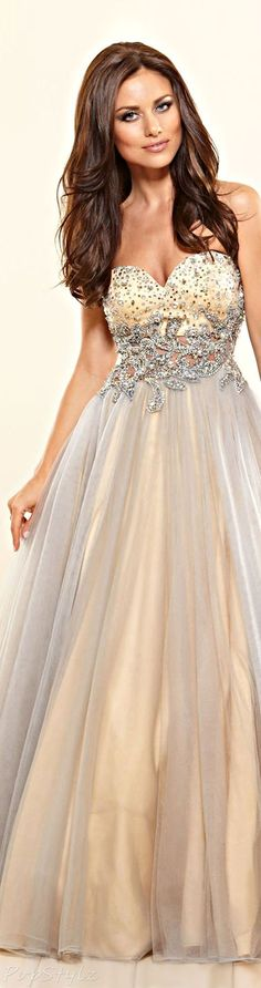 "Terani Couture Sweet Gown (^.^) Thanks, Pinterest Pinners, for stopping by, viewing, re-pinning, & following my boards.  Have a beautiful day! ^..^ and ""Feel free to share on Pinterest ^..^ #fashion   #fashionupdates"