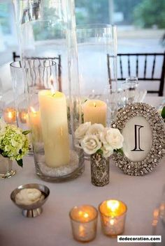 DIY Wedding Ceremony Table Amount Ideas   Http://www.dedecoration.com