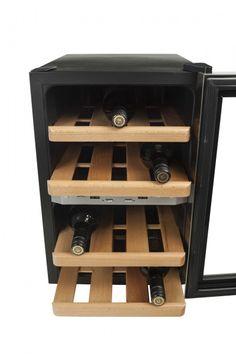 Smaak van de Wereld – Wijnklimaatkast Wine Klima D12 / DOMO DO909WK / Caso WineDuett  12