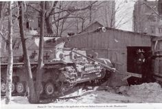 PZ IV G during a lull in the fighting in Kharkov.  Soviet Union, 1943  ~ Vengeance_Lord