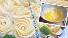 Delikatny krem do ozdabiania tortów i babeczek Polish Desserts, Polish Recipes, Icing Frosting, Wedding Desserts, Food Inspiration, Delicious Desserts, Sweet Tooth, Cake Decorating, Good Food