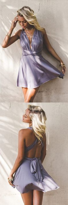homecoming dresses, chic a-line fashion dresses, semi-formal dresses, cheap short prom gowns. #homecomingdresses