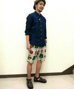 BEAVER横浜店|比嘉さんのシャツ・ブラウスを使ったコーディネート - ZOZOTOWN