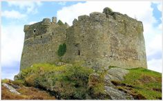 Tioram Castle, Invermoidart. May 2012. by Tom MacDonald.