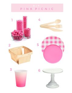Learn how to throw a pink picnic party with plates, treats and even this watercolor DIY table runner that is sure to be a hit! Picnic Theme, Picnic Birthday, 27th Birthday, First Birthday Parties, First Birthdays, Birthday Ideas, Happy Graduation Day, Picnic Foods, Picnic Recipes