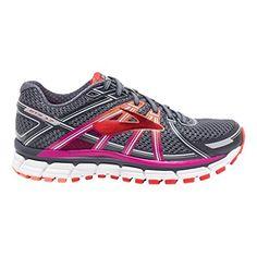 272f33bddbf72 Brooks Adrenaline GTS 17 Women s Shoes Anthr Fuschia