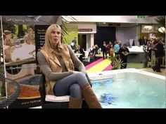Sharron Davies talks about Hydropool SwimSpas at the Ideal Home Show