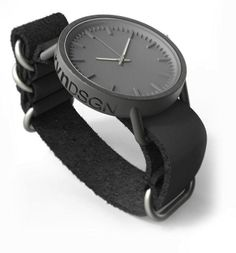 3D printed watch.