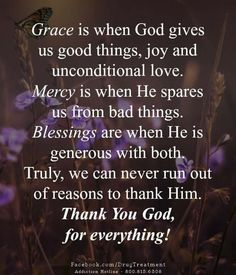 Thank You God, God Bless You, Inspirational Thoughts, Positive Thoughts, Catholic Quotes, Good Morning Friends, Gods Grace, Unconditional Love, Powerful Quotes