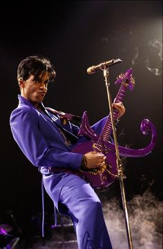 and rock and roll...Prince. :) purple rain himself - oozes coolness and swag