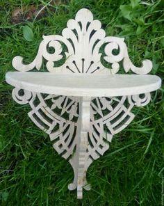 Мебель ручной работы. Ярмарка Мастеров - ручная работа. Купить Полка V18. Handmade. Комбинированный, полка из дерева, полка настенная
