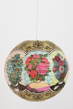 Urban Outfitters; Handmade Paper Latern