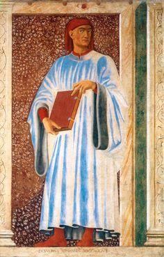 Джованни Боккаччо. Художник Андреа дель Кастаньо. Ок. 1450