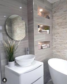Bathroom Design Luxury, Bathroom Design Small, Bathroom Layout, Dream Bathrooms, Beautiful Bathrooms, Bathroom Design Inspiration, Classic Bathroom, Home Room Design, Gothic Steampunk